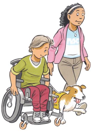 WF 4-5 buiten rolstoel hond-1