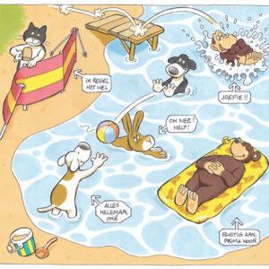 Strand dieren